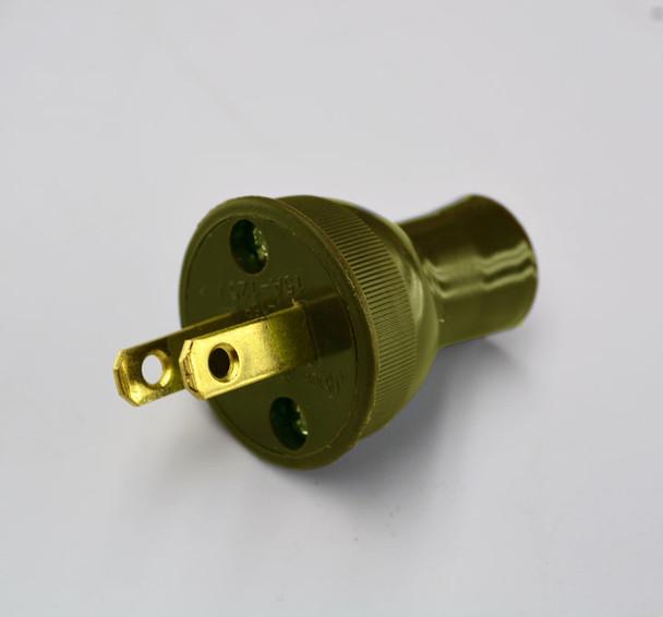 Brown Vintage Style Plug