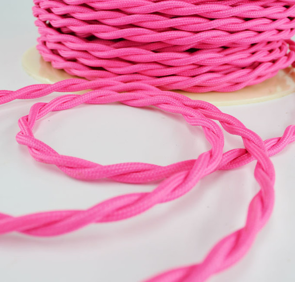 Pink Cloth WIre