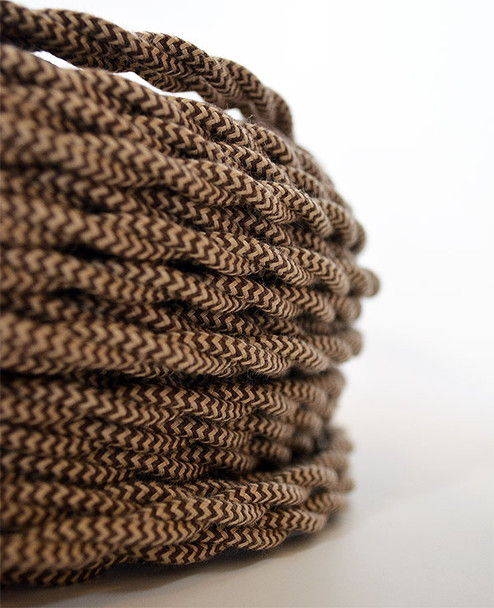Caramel Mix Cloth Wire