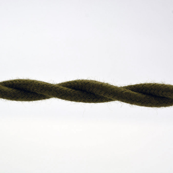 Olive Cotton Wire