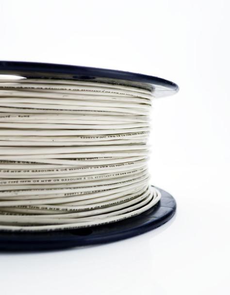 White MTW Wire