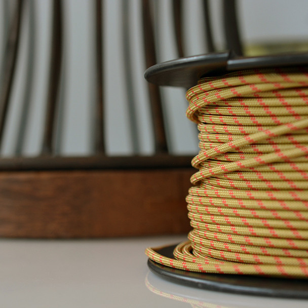 Gold antique wire