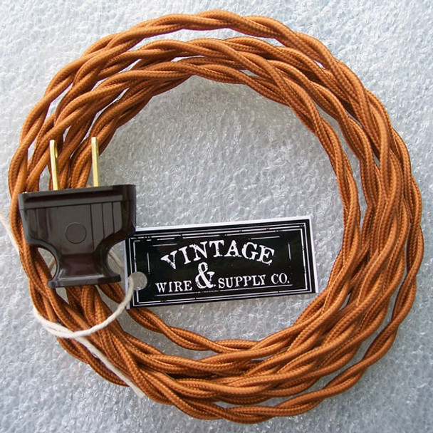 Excellent Lamp Cord From Vintage Wire And Supply Wiring Cloud Cosmuggs Outletorg