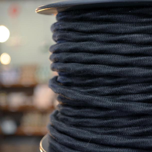 Black Cotton overbraid