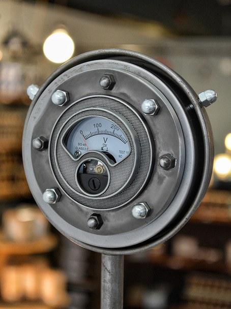 Steampunk Gauge Nickel