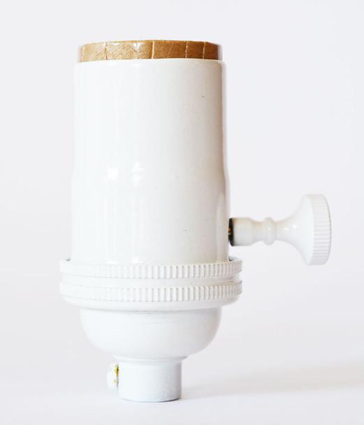 Light Socket White
