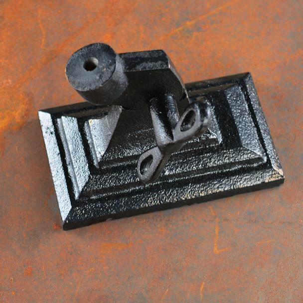 Adjustable Lamp Base - Cast Iron - Rectangular