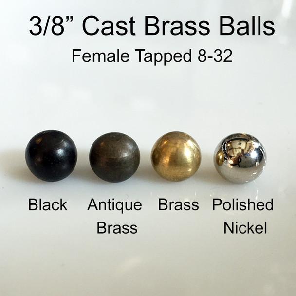 Cast Brass Balls