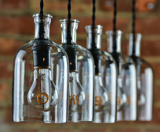 Bottle Chandelier
