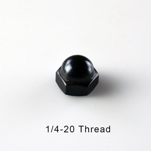 1/4-20 Black Cap Acorn Nut