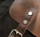 Vintage Messenger Bag - Black
