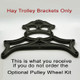 Hay Trolley Brackets