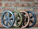 """Pulley Wheel - 5"""" - Antique Copper Finish"""