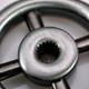 Dimmer Wheel Knob - Antique Nickel