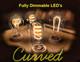 Curved LED Filaments Bulbs