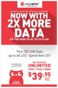 Page plus plan Verizon