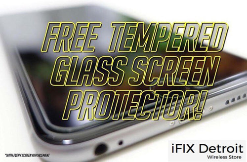 TEMPERED GLASS PROTECTOR AT IFIX DETROIT