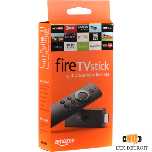 Fire Stick with Alexa voice remote in detroit