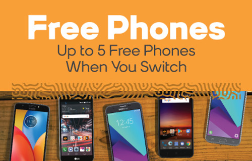 Boost Mobile FREE PHONES