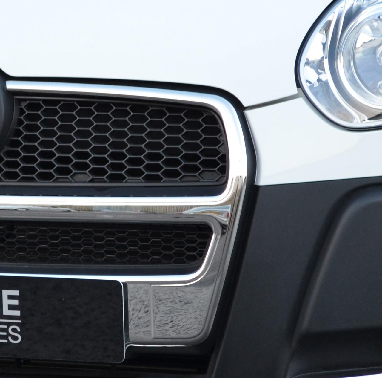 2010+ Chrome Side Door Streamer Trim Set Covers To Fit Fiat Doblo