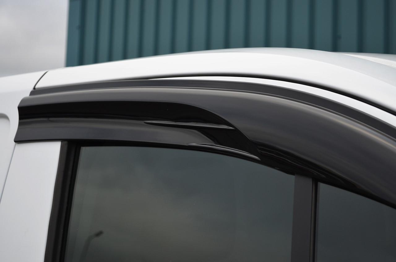 Side Window Wind Deflectors Rain Shields To Fit Ford
