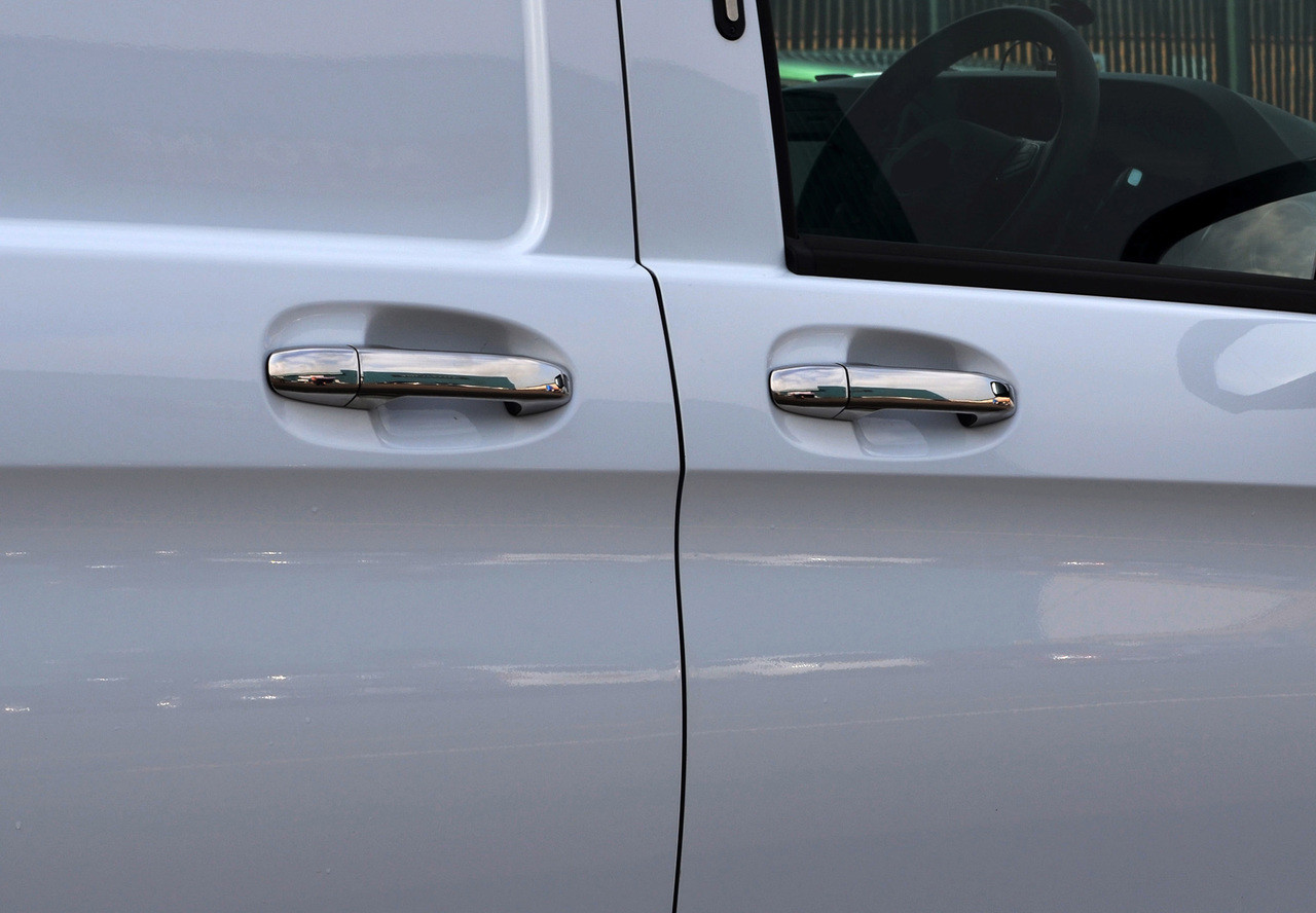 Chrome Door Handle Covers To Fit Vito W447 2015+ With Keyless Entry
