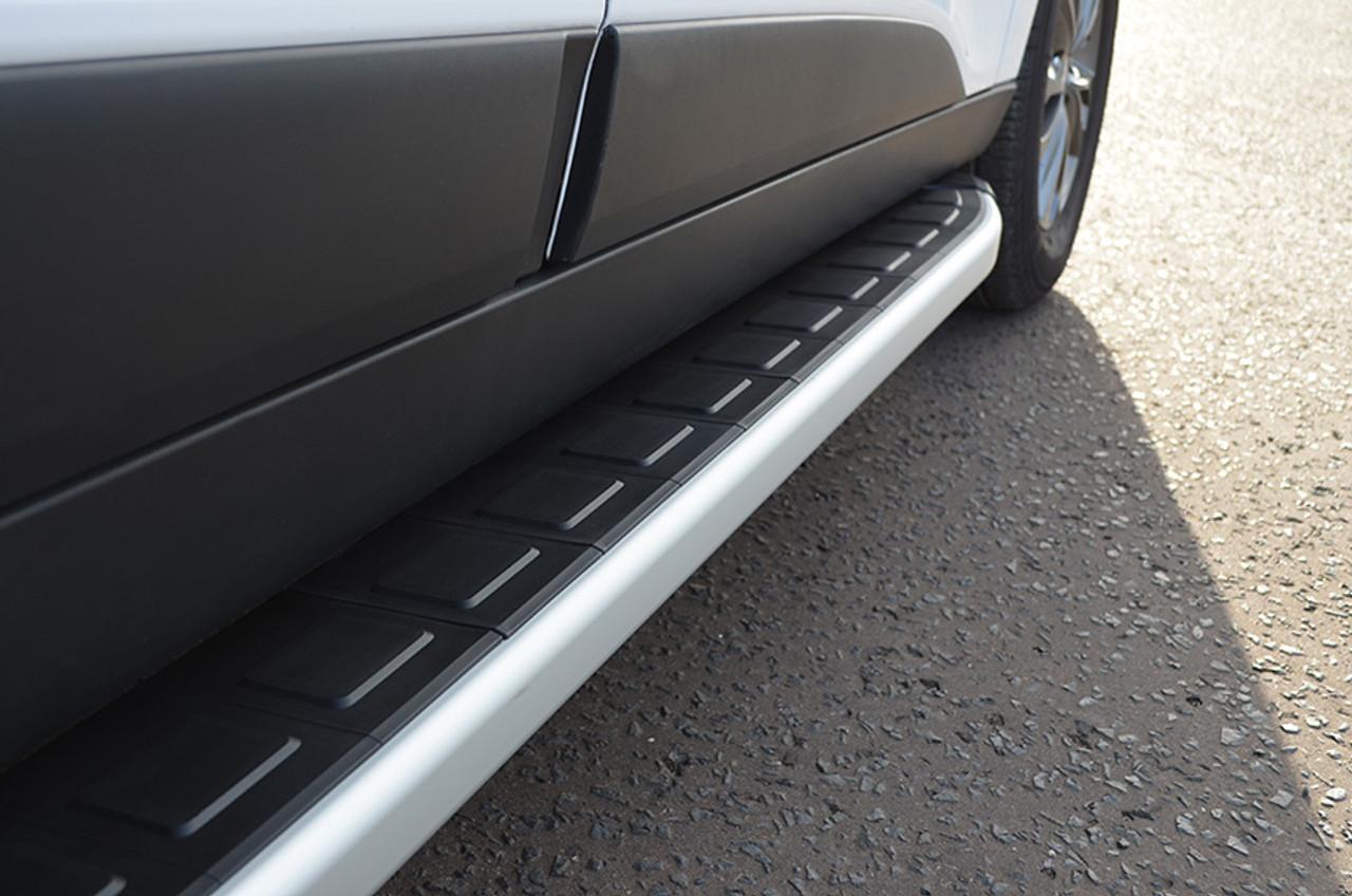 Aluminium Side Steps Bars Running Boards To Fit Nissan Navara NP300 2015+