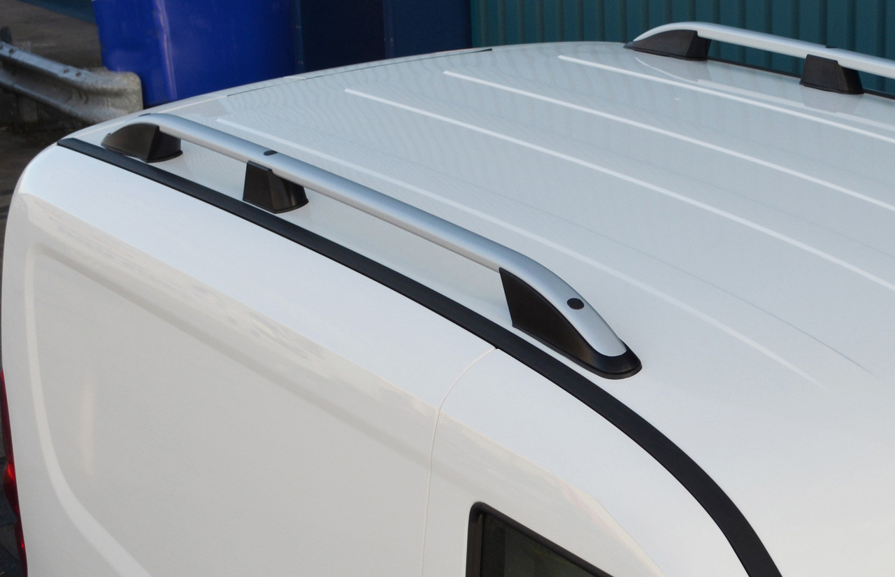 2004-15 Alu Cross Bar Rail Set To Fit Roof Side Bars To Fit Volkswagen Caddy