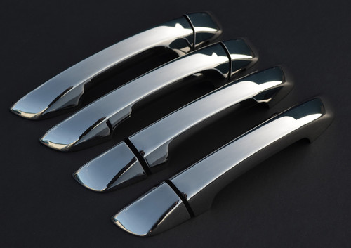 Chrome Door Handle Trim Set Covers To Fit Seat Alhambra (2010+)