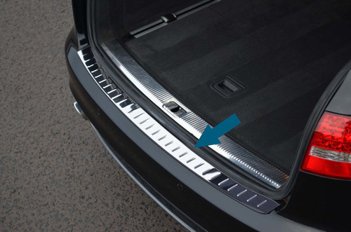 Chrome Bumper Sill Protector Trim Cover To Fit Audi A6 Avant (1997-04)