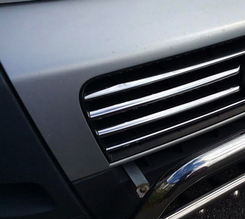 Chrome Front Grille Trim Covers Accent Set To Fit Fiat Ducato (06-14)