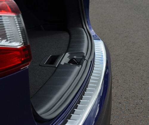Premium Chrome Bumper Sill Protector Trim Cover To Fit Nissan Qashqai (2014-17)
