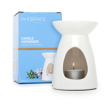 Essential Candle Diffuser - White