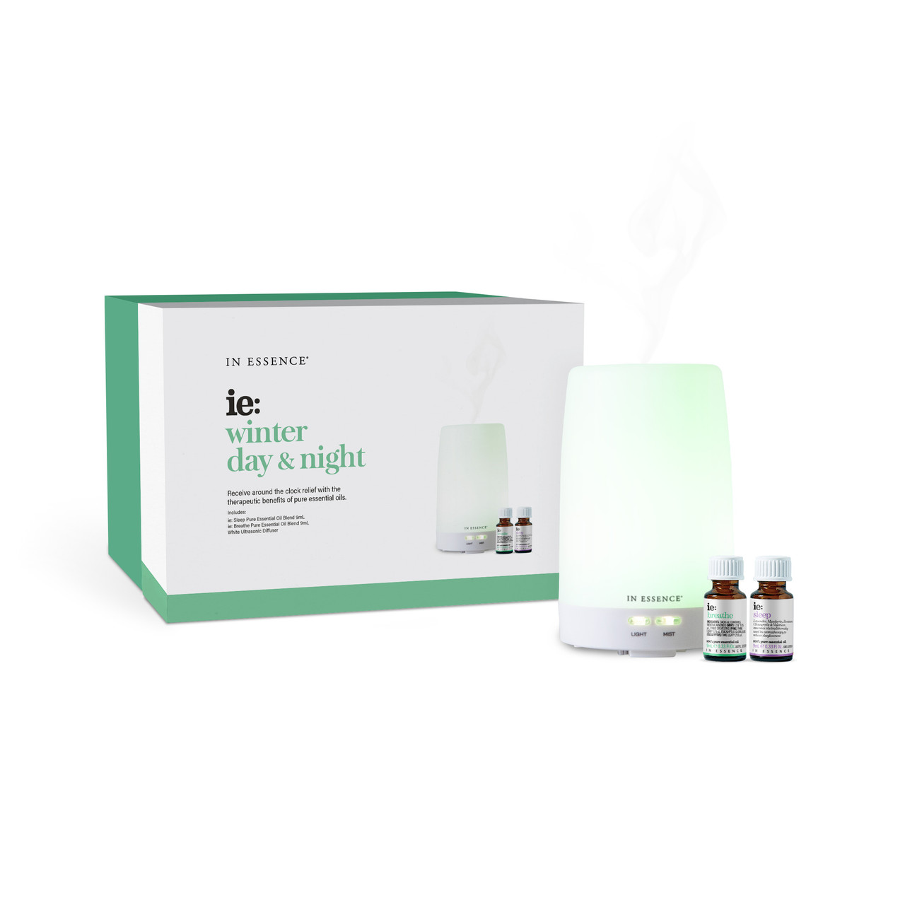 Winter Day Night Diffuser And Oils In Essence