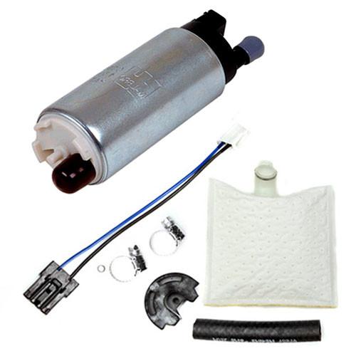 Walbro 255LPH High Performance Universal Fuel Pump & Install kit GSS-342