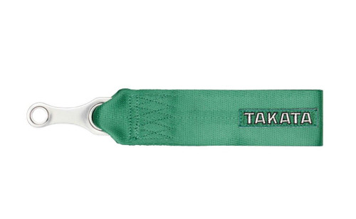 Takata Tow Strap Hook - Green / Black (78009-H2 78009-0)
