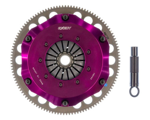 "Exedy ""Twin Disc"" Stage 4 Hyper Double Compe-R Twin Cerametallic Clutch for K-Series HM032SBL"