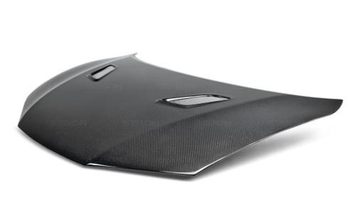 Seibon Carbon Fiber Hood for 2014 2015 Honda Civic Coupe Base or Si HD14HDCV2D-MG