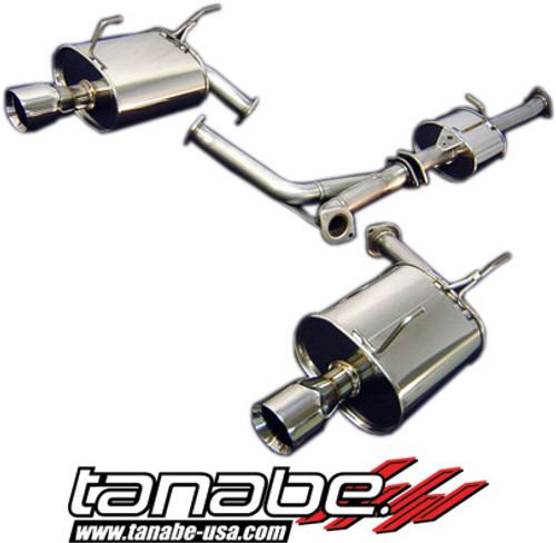 Tanabe 00-05 S2000 Medallion Touring Dual Exhaust Catback | T70040
