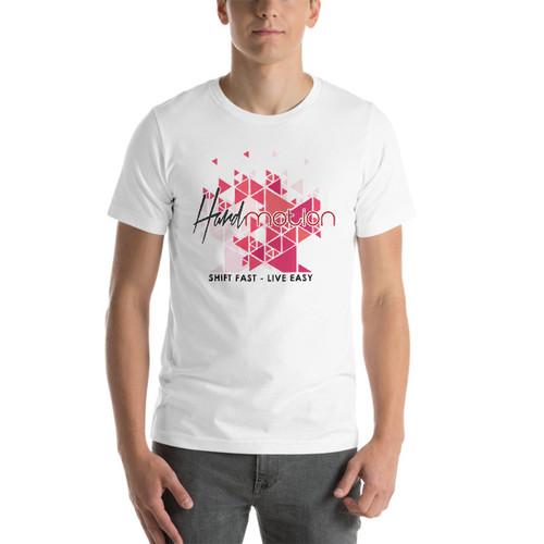 HARDmotion Geometric Cherry Blossom Comfort T-Shirt