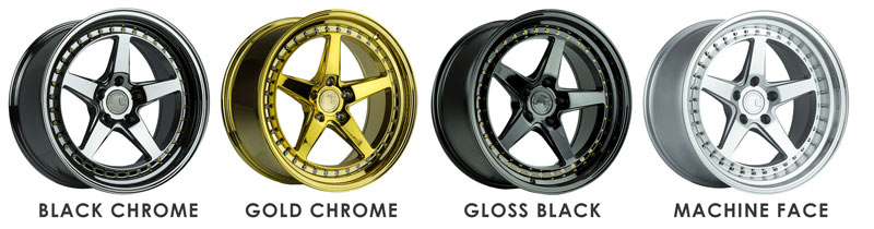 Aodhan DS05 Wheels Colors