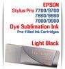 Light Black Epson Stylus Pro 7890/9890 Pre-Filled Dye Sublimation Ink Cartridge