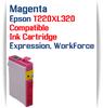 Magenta T220XL320 Epson Expression XP, WorkForce WF Compatible Printer Ink Cartridge  Epson Expression XP-320 Epson Expression XP-420 Epson Expression XP-424  Epson WorkForce WF-2630 Epson WorkForce WF-2650 Epson WorkForce WF-2660 Epson WorkForce WF-2750 Epson WorkForce WF-2760