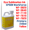 Yellow 240ml bottle Dye Sublimation Ink