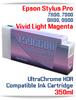 T596600 Vivid Light Magenta Epson Stylus Pro 7890/9890, 7900/9900 UtraChrome HDR Pigment Compatible Ink Cartridge 350ml