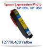 Yellow High-capacity Expression Photo XP-850 Small in One, XP-950 Small in One Printer Compatible Ink Cartridges