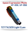 Light Cyan High-capacity Expression Photo XP-850 Small in One, XP-950 Small in One Printer Compatible Ink Cartridges