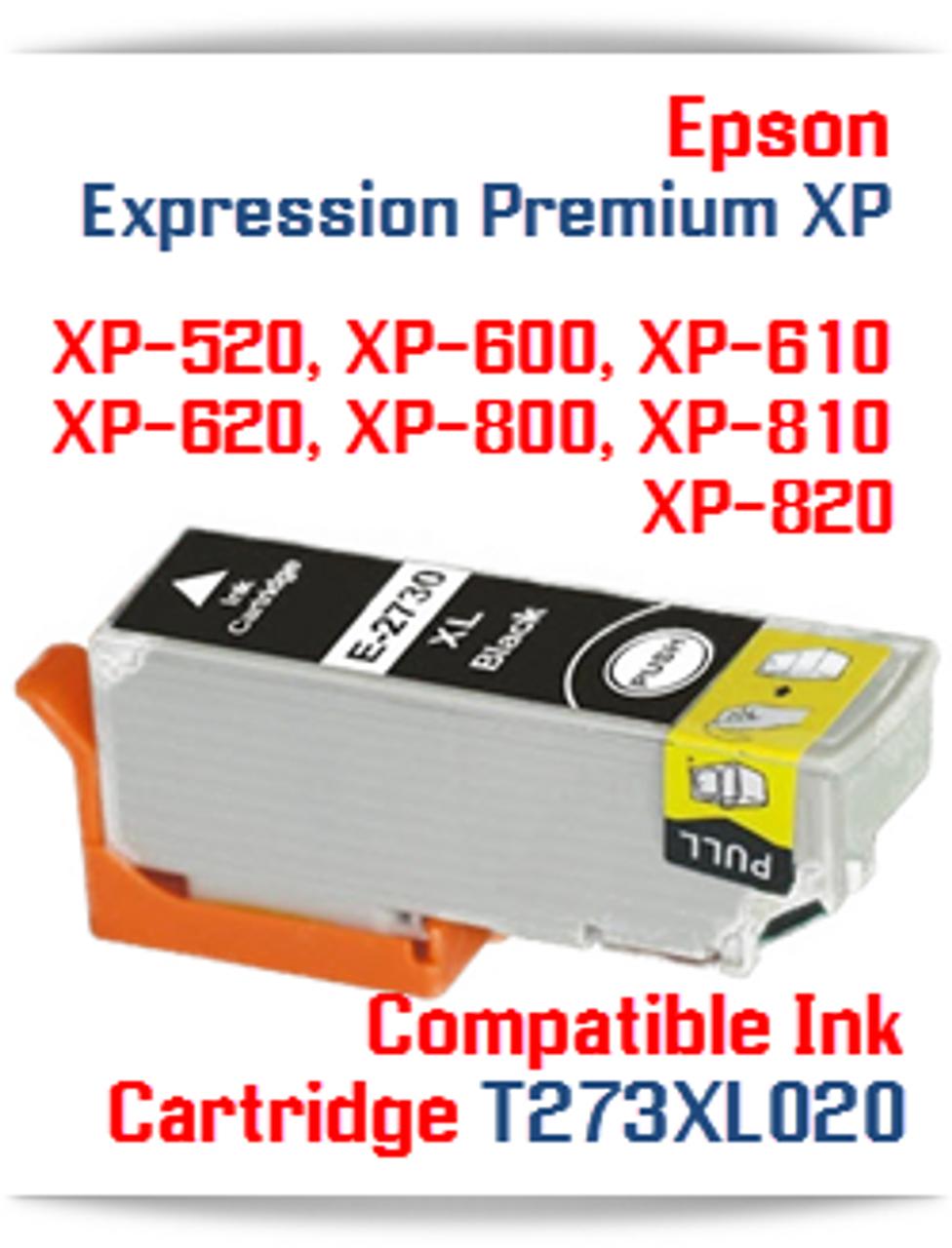 T273XL020 Black Epson Expression Premium XP Ink Cartridge