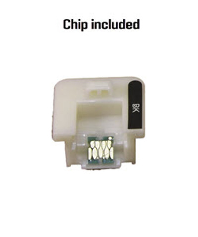 Black chip included