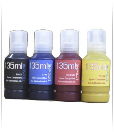 4- 135ml bottles Dye Sublimation Ink for EPSON SureColor F570 printer